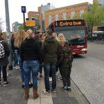 Extra bussen op Bevrijdingsdag