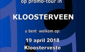 Asser Mannenkoor deze week met Promo-Tour 2018 in Kloosterveen