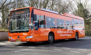 Dag en nacht extra bussen tijdens Koningsdag
