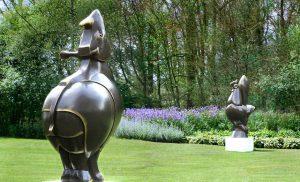 """Seizoen 2018 beeldentuin en galerie """"het Aardscheveld"""""""