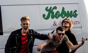 Instore optreden Kobus en de Rokkers bij Vanderveen