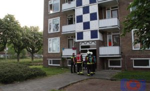 Brandje in flat in de wijk Assen – Oost