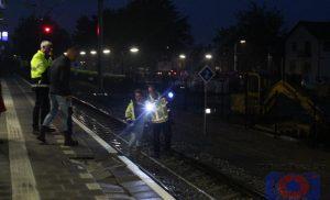 Deel perron nieuw station Assen verzakt door vele regen