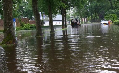 Borger Wateroverlast