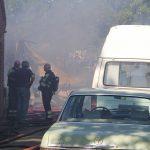 brand aan de Beukenlaan in Nieuw Roden