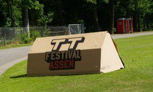 Kartent op de TT Campings
