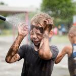 Modderrace voor kinderen van Kids First
