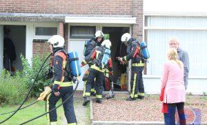 Keukenbrand in woning aan de Riete Assen
