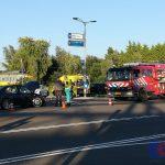 Voorrangsfout lijdt tot ongeval op de Industrieweg in Assen