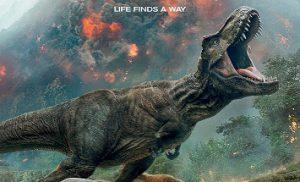 Levensechte Dino in Assen bij release Jurassic World: Fallen Kingdom