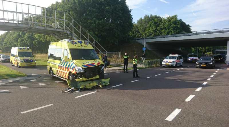 Ambulance betrokken bij ongeval op de Haar in Assen nabij het TT-circuit