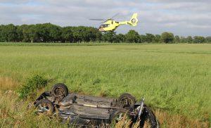 File door ongeval op de A28 bij Tynaarlo