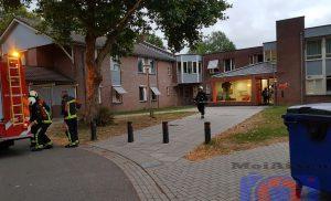 Brand in keuken GGZ-terrein in Assen