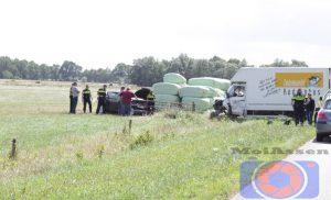 Gewonde bij botsing bestelwagen en auto in Hooghalen
