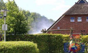 Zorginstelling ontruimd na brand in het dak  Gieten