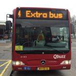 Extra bussen tot na middernacht tijdens C'est La Vie