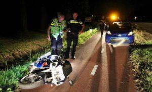Motorrijder gewond bij verkeersongeval op de N371 bij Bovensmilde