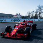 Kaspersky Lab haalt SCUDERIA FERRARI FORMULE 1 van Vettel naar GAMMA Racing Day