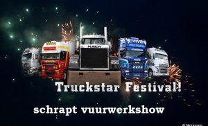 Truckstar Festival op het TT Circuit schrapt vuurwerkshow