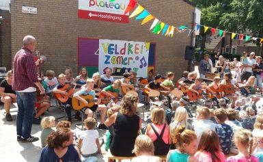 Creatiever, motorisch vaardiger en vrolijker van muziek maken: Kindcentrum de Veldkei bewijst het met muzikaal zomerfeest