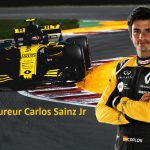 F1-coureur Carlos Sainz Jr. geeft demonstratie tijdens Gamma Racing Day 2018 Assen