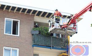 Brandweer rukt uit voor woningbrand aan de Nobellaan Assen