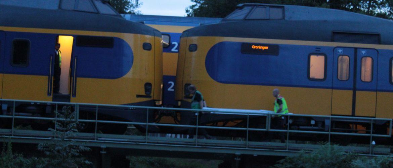 Trein naar Groningen blijft stil staan in Assen