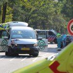 Medewerkers FC Groningen betrokken bij ongeval op de Donderseweg in Norg