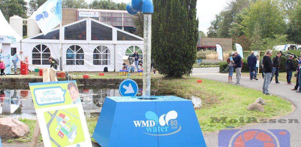 Open dag bij Waterleidingmaatschappij Drenthe in Assen