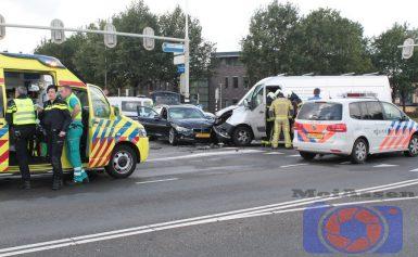 Verkeersongeval op kruispunt Europaweg-Zuid met de Balkenweg Assen