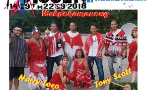 Native Indian show Wehpokamanong feat  Tony Scott (the Chief) en Harry Loco
