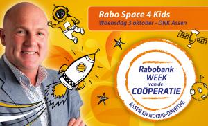 André Kuipers komt naar Assen tijdens Space 4 Kids