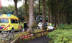 Vrouw gewond bij ongeval op de Anreep in Assen