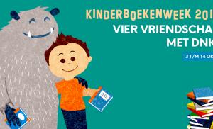 Tal van activiteiten tijdens de Kinderboekenweek in Bibliotheek DNK