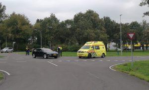 Aanrijding tussen personenauto en scooter in Assen