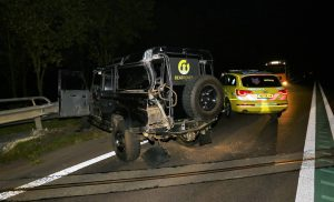 Auto's botsen op N34 tussen Zuidlaren en De Punt