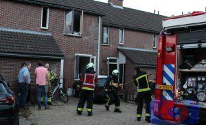 Brand in woning aan Nijstukken in de wijk Peelo Assen