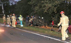 Ernstig ongeval op de N34 tussen Gasselte en Exloo