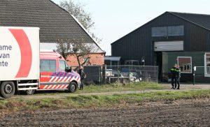 Politie verricht twee arrestaties bij aantreffen van drugslab in Eerste Exloërmond
