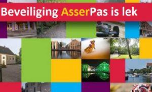 Beveiliging AsserPas is lek