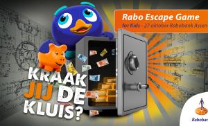Uitdagende Rabo Escape Game tijdens de Spaardag