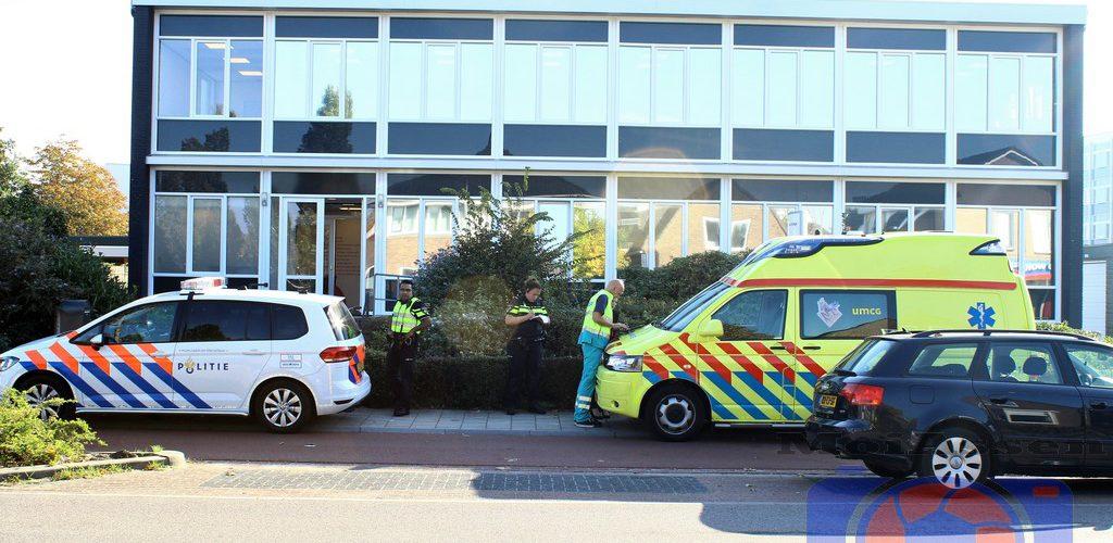 Jongen aangereden door auto op Groningerstraat Assen