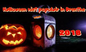 Halloween niet populair in Drenthe