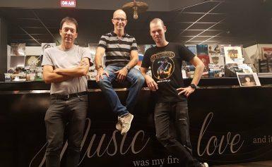 Muziekafdeling van Warenhuis Vanderveen bestaat 50 jaar