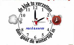 Klok één uur achteruit: de wintertijd gaat vannacht in!