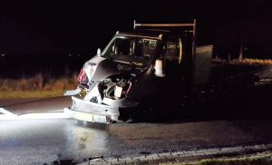 Die auto`s betrokken bij ongeval in Drouwenermond
