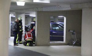 Brandweer gealarmeerd voor brandstoflekkage in parkeergarage Citadel Assen