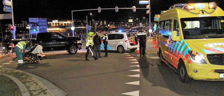 Fietser aangereden op Abel Tasmanplein /  Industrieweg Assen
