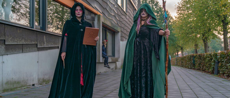 Elk jaar zorgen een aantal leerkrachten voor een Halloween stunt