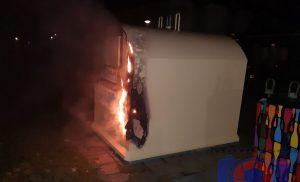 Containerbranden in Assen
